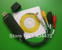 12pcs free shipping Easycap USB 2.0 Video TV DVD VHS Capture Adapter grabber
