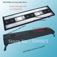 "ODYSSEA 48""(120cm) Aquarium Fish Tank Metal Halide Lamp/HQI Lighting +T5 Actinic Blue+Bluemoon LED, fit tank 120cm,HQI150W,Black"