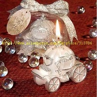 Free Shipping /European pumpkin car candle / car candle / romantic  art  candles