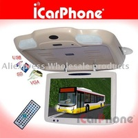 ROOF Mount monitor for BUS with car DVD player+TV+VGA+USB+FREE SHIPPING
