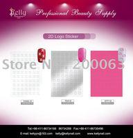 Free Shipping 96pcs/lot Logo Nail Soft Sticker Nail Decoration