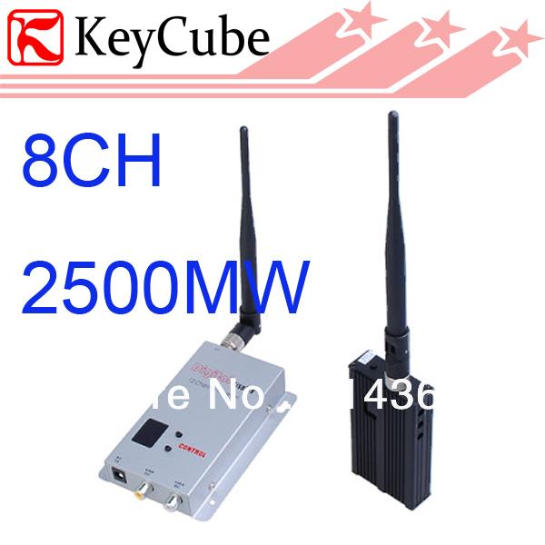 2500mw wireless-video-audio-sender empfänger-system 8ch 2.5w av absender wireless av-sender versandkostenfrei