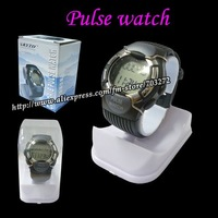 Free Shipping! 5pcs/lot Pulse Watch with retail packing Sport Calorie Counter + Monitor  Heart Rate Pulse Watch + Retail box