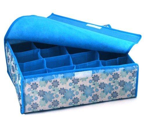 HOT SALE storage bags cases stool underwear storage box Organizer Holder Box Closet hanging storage