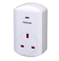 Z-Wave Plug-in Socket TZ68E (UK Plug) +CE for Smart Home and Home Automation with Free Shipping