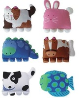 8 designs Kids Pillow case Children's pillow case/pillow cover/Baby pillowcase/animal-shaped pillowcases