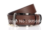 Free shipping.Wholesale.Septwolves man leather belt.new brand cow hide belt ,fashion waist belt.