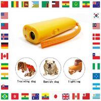 Free shipping**2pcs/lot **Ultrasonic Dog Bark Training Deterrent Device Repeller