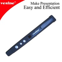 Free Shipping! 2014Newest   Mouse Wireless Laser Pointer 1pc VP190 with thumbtouch mouse for  Powerpoint presentation