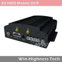 4 channel Bus DVR, 3G DVR, HDD DVR, support GPS, WIFI, 3G module, G-sensor