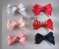 "free shipping Girls' new Hair Accessories 2"" hair bows with clip grosgrain ribbon bows 120pcs/lot"