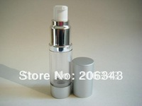 15ML airless bottle or plastic lotion bottle with airless pump can used for Cosmetic Sprayer or Cosmetic Packaging