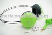 Stereo earphone / headband Earphone,headphone/earpiece for ipod,FOR iphone ,coputer,mp3,game player CD/DVD