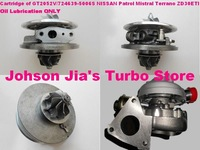 Cartridge Chra of GT2052V/724639-5006S Turbocharger for NISSAN Mistral,Patrol,Terrano,Engine:ZD30DTI/ZD30ETI 3.0L(Wind Cooled)
