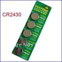 10pcs x  CR2430 DL2430 ECR2430 LM2430 3V Lithium Button Cell Battery Coin Batteries
