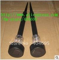 Free shipping+ Solar lamp, solar lawn lights, garden lights, plastic solar garden lights 10pcs