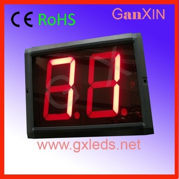 4inch 2digits indoor red easy installation hot product led counter