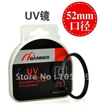 52mm uv 52 mm Ultra-Violet Filter Lens Protector for canon nikon sony pentex dslr camera