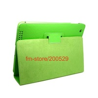 Free Shipping By DHL,UPS,FEDEX,,Leather Case Cover Pouch Stand For ipad 2