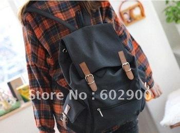 Stylish Canvas backpacks, new fashion school bag, big volumn packsacks, unisex leisure shoulders bag, traveling bag, wholesale