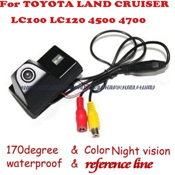 Special Car Rear View reverse backup Camera for Toyota Land Cruiser LC100 4500 4700