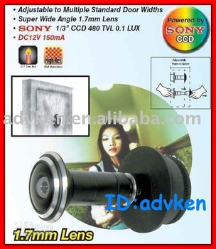 Lens ( CCD) Video Peephole Door Camera Super Wide Angle 1.7mm