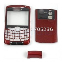 Free Shipping Faceplate & Battery Cover (Red Color) for Blackberry Curve 8310 Faceplate & Battery Cover for BB8310