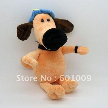 "Free Shipping Shaun The Sheep BITZER DOG Plush Doll Soft Toy 9"" Wholesale and Retail"
