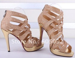 Fashion Brand Lady's Shoes Sexy Womens High Heel sandals Free shipping