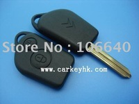 Citroen Elysee 2 button remote key blank& auto key shell and key case wholesale and retail