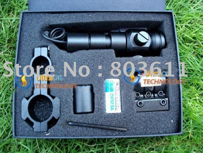 5pcs Rifle Scope 5mW redRifle Scope Tactical red laser Sight Laser Scope of Laser Aim(China (Mainland))
