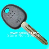 HOT! 45% free shipping Hyundai transponder key blank with left blade & auto key shell  wholesale and retail