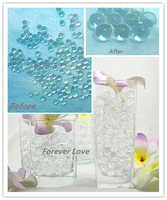 CLEAR NEW Crystal Jello Table Centerpiece Decoration Home Decor Supplies