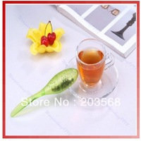 50pcs/lot Tadpole Spoon Teaspoon Tea Strainer Infuser Filter New + Free Shipping