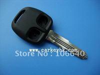 Good quality Mitsubishi 2 button remote key blanks, car keys and key casing