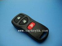 5pcs/lot  Nissan X-Trail 2+1 3 button remote control smart key with electronics 315Mhz