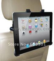 Car headrest mount for ipad 2, car headrest holder for iPad 3, PP bag packing, 100pcs/lot