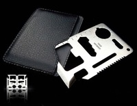 Multifunction Card Tool Pocket saber Card multi tools Outdoor Camping 11 functions in 1 Survival card Knife 5pcs