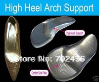 Free shipping High Heels Arch Support Shoe Inserts Insoles Party Feet Blister Card retail packaging