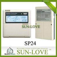 SP24 Solar Controller Regulator,Solar Water Heater Controller,Solar Thermal Controller,110/220V,LCD Display,Free Shipping