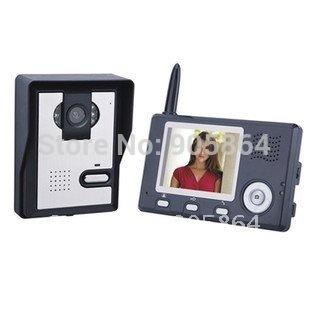 Wholesale - Digital Wireless Color Video Door Phone Intercom 3.5 inch 2.4GHz 1 to 1 Brand New