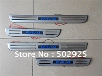 TOYOTA RAV4 2006-2010 Stainless Steel Scuff Plate / Door Sills  with led light high quality(EMS USP DHL)