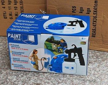 free shipping & for  Brazil& paint zoom paint sprayer  & Spray Gun&110V