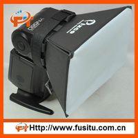 Universal Flash Diffuser Soft Box For Canon, Nikon,Sigma Camera white