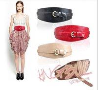 2011,Europe Style fashion waist band use elastic band with pu