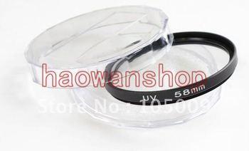 58mm UV Filter Ultra-Violet Lens Protector for canon nikon pentax sony dslr camera