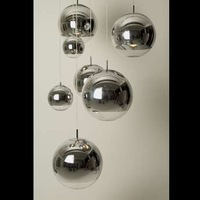 Diameter 30CM Tom Dixon Silbver Shade ceiling light Pendant Lamp x1piece