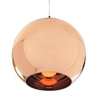 Diameter 25CM Tom Dixon Copper Shade ceiling light Pendant Lamp x1piece + free shipping
