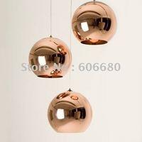 Diameter 40CM Tom Dixon Copper Shade ceiling light Pendant Lamp x3piece + free shipping