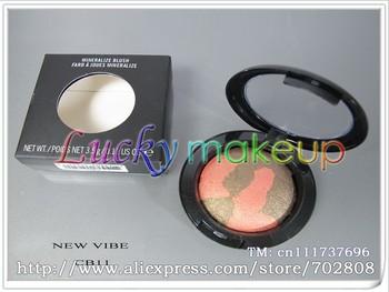 New mineralize blush,\\\'without brush\\\'English name\\\'10 colors 3.5g(100 pcs/lots)